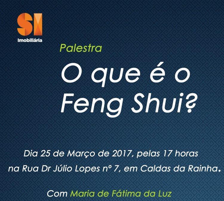 """Palestra """"O que é o Feng Shui"""""""